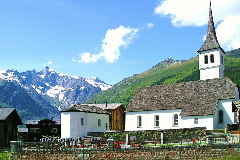 Kirche von Bellwald