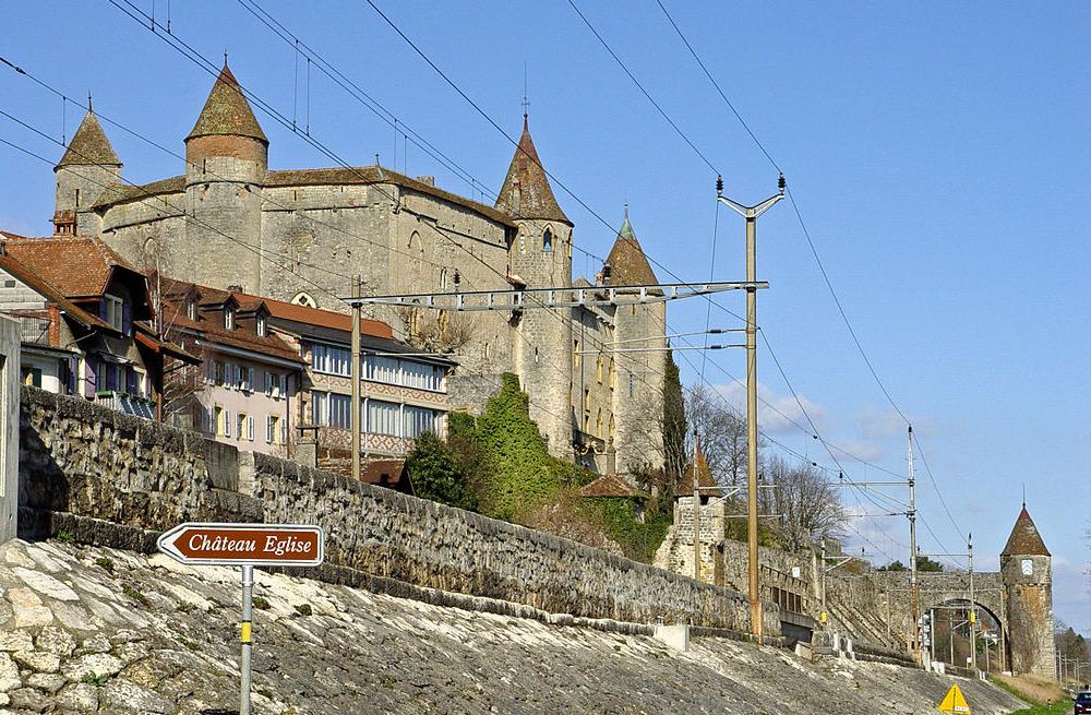 Das Schloss Grandson