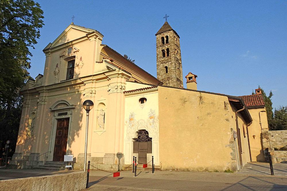 Außenansicht der Kirche Santi Pietro e Paolo in Luino