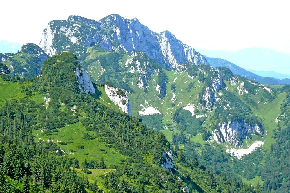 Benediktenwand vom Vorderen Kirchstein aus gesehen