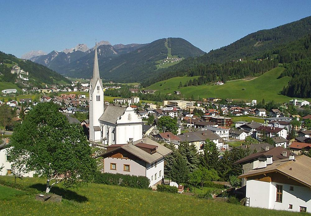 Blick auf Sillian in Osttirol