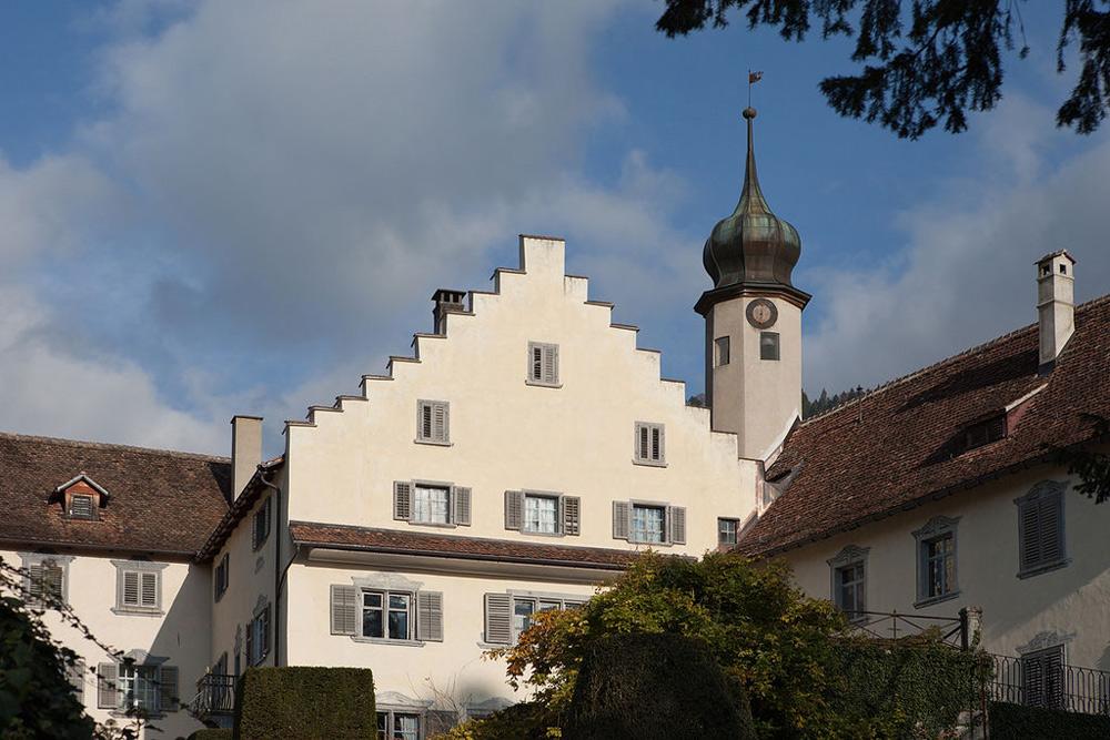 Blick auf Schloss Bothmar