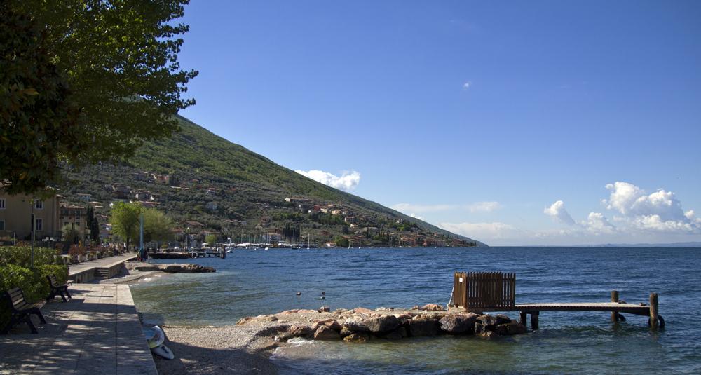 Blick auf den Ortsteil Assenza am Gardasee