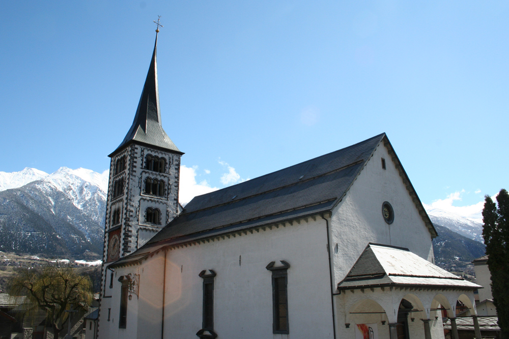 St. Mauritius-Kirche in Naters