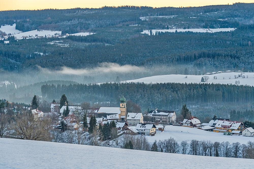 Ortsansicht von Lenzkirch im Schwarzwald