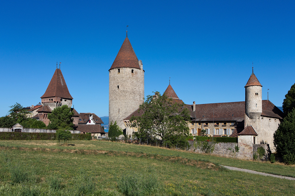 Schloss Chenaux in Estavayer-le-Lac