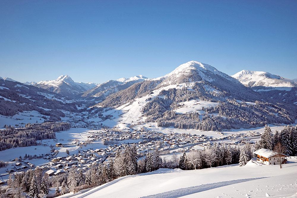 Blick auf Kirchberg in Tirol