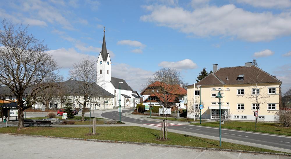 Ortszentrum von Gschwandt