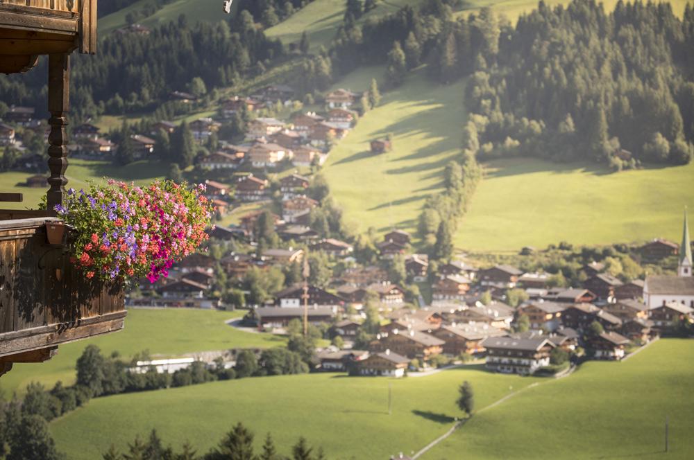 Blick vom Heimatweg auf Alpbach