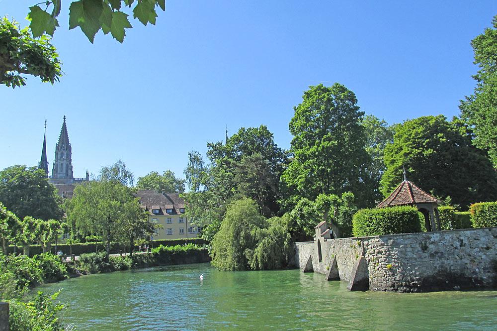 See im Stadtgarten von Konstanz