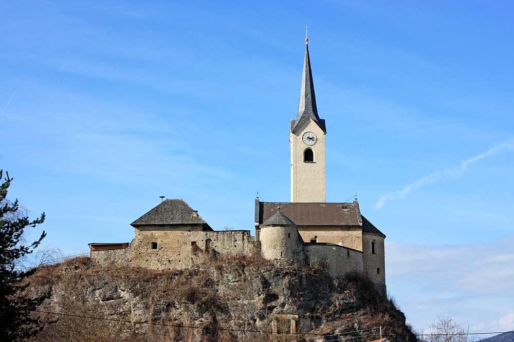 Pfarrkirche St. Laurentius in St. Kanzian am Klopeiner See