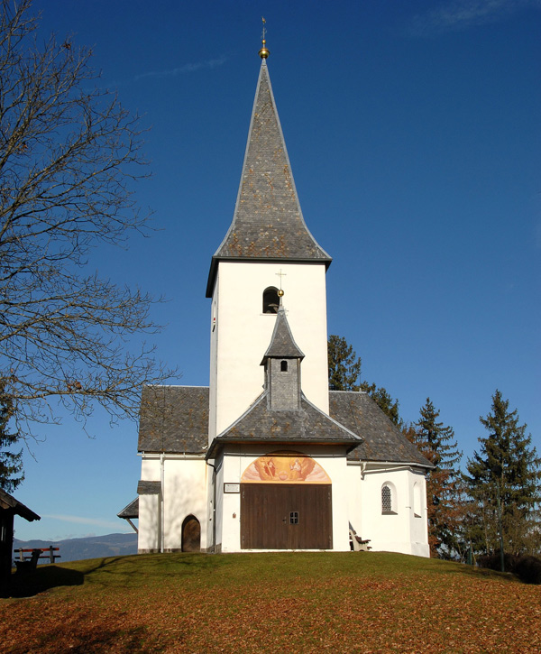 Kapelle auf dem Georgibergl mit dem Wunschglöcklein
