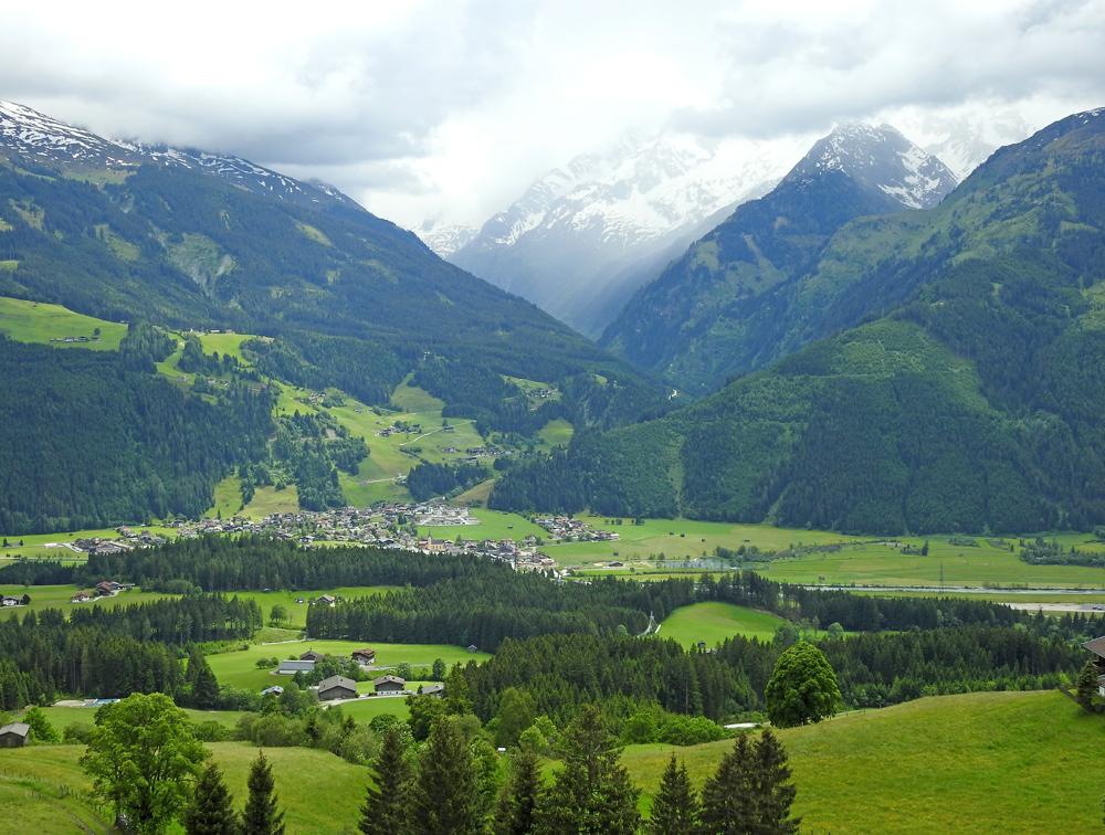 Blick auf Hollersbach