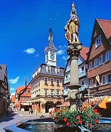 Marktplatz in Aalen