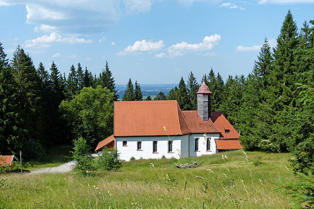 Wallfahrtskirche Maria Trost oberhalb von Nesselwang