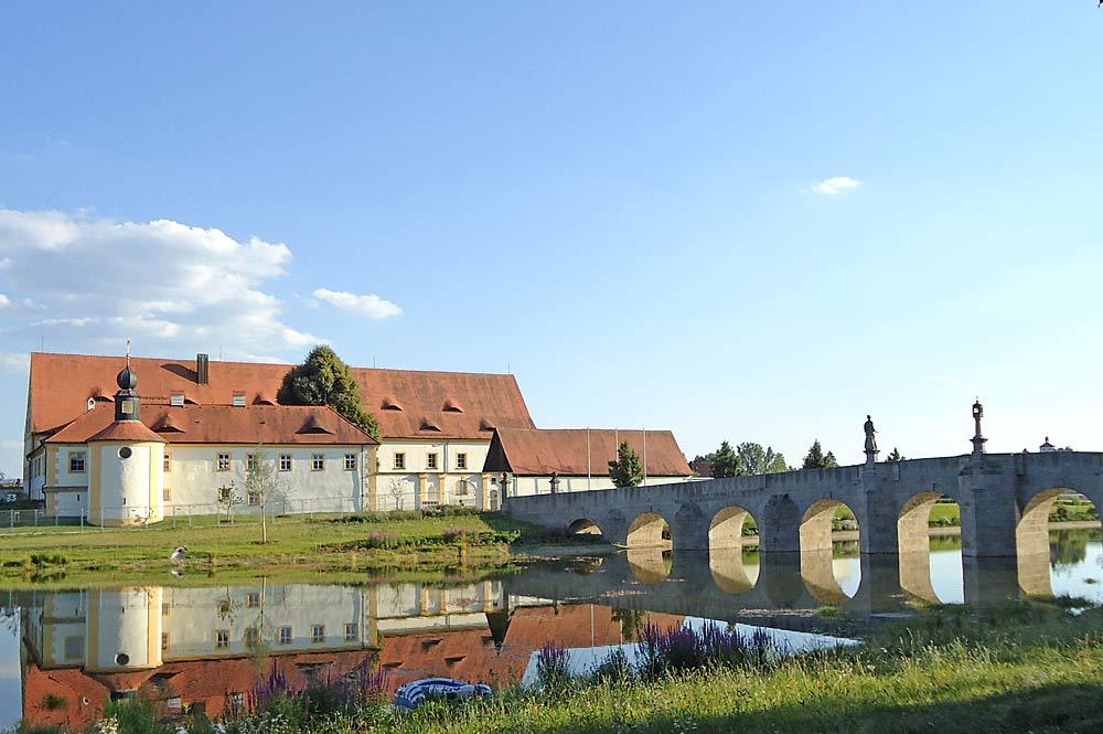 Fischhof und Fischhofbrücke in Tirschenreuth