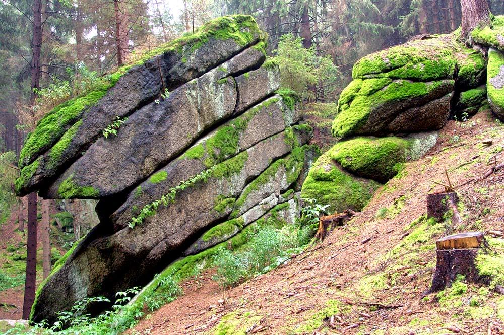 Granitfelsformation Teufelsküche bei Tirschenreuth