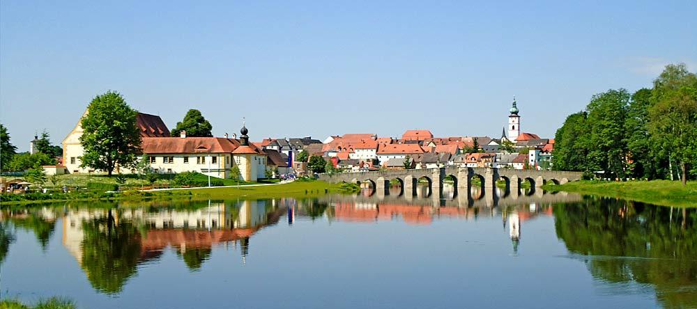 Panorama von Tirschenreuth