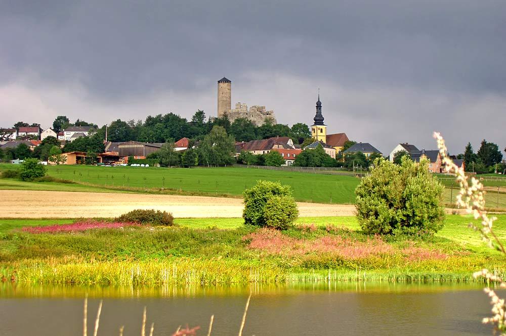 Blick von Süden auf Thierstein