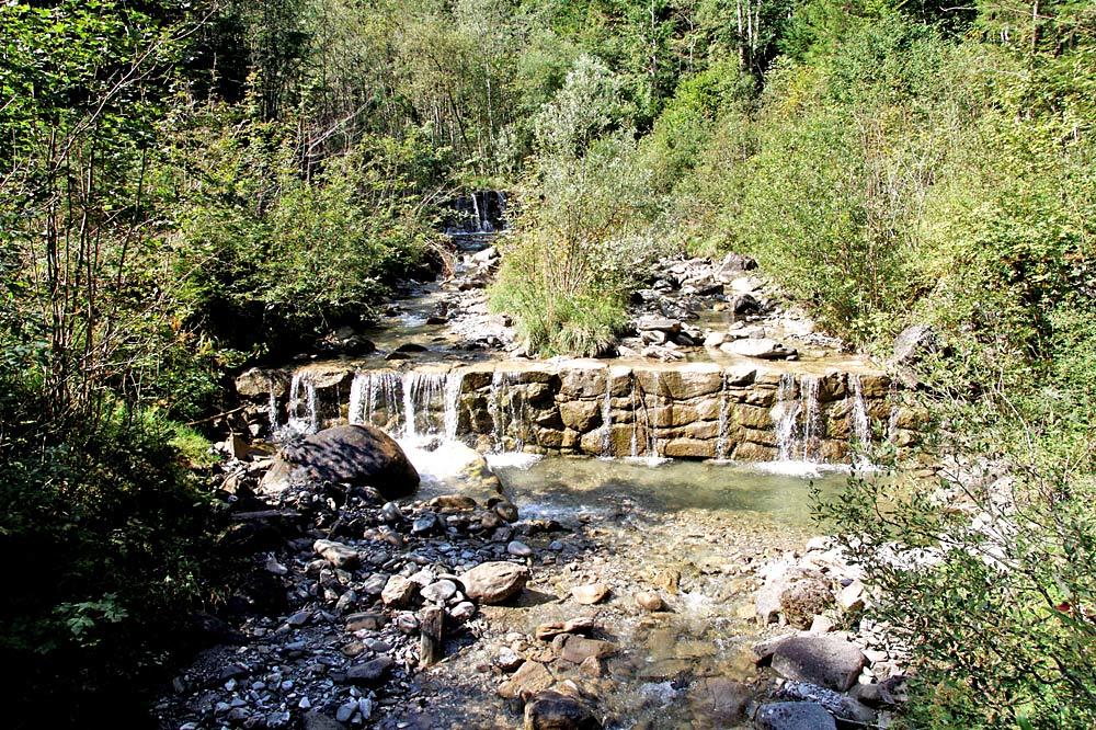 Der Lahnegraben im Ortsteil Schwaigen-Fuchsloch