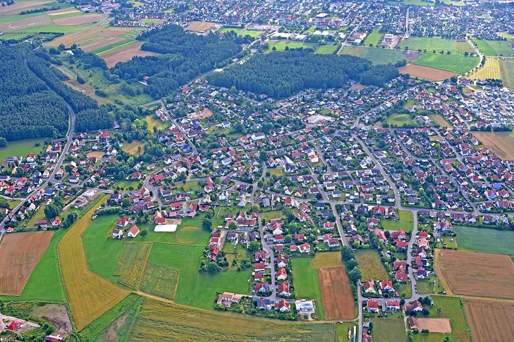 Luftaufnahme von Kemnath
