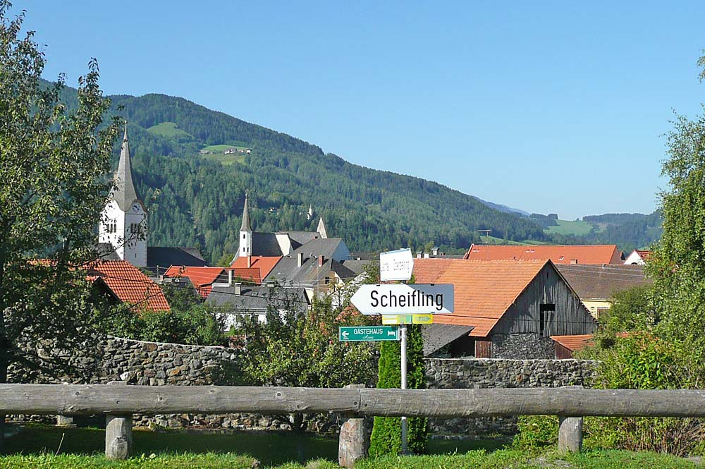 Blick auf Oberwölz-Stadt