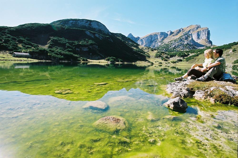 Der Zireiner See im Rofangebirge