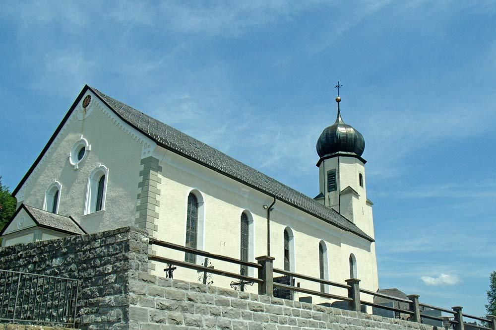 Pfarrkirche St. Johannes Nepomuk in Doren
