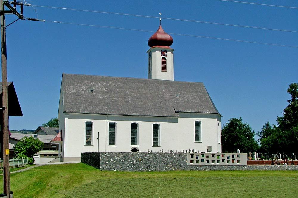 Die katholische Pfarrkirche St. Martin in Krumbach