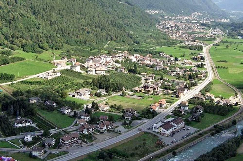 Luftaufnahme der Gemeinde Monclassico