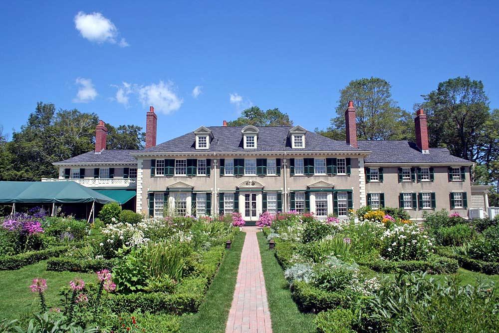 Hildene Mansion der Familie Lincoln