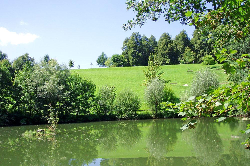 See im Kurpark Sonthofen