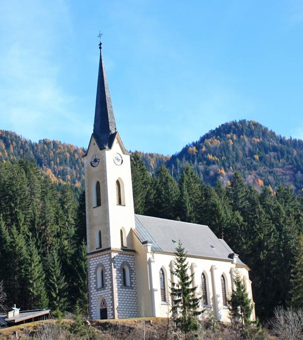 Evangelische Kirche in Weißbriach