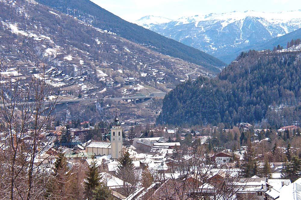 Ortsansicht von Bardonecchia