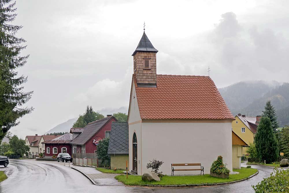 Außenansicht der Pirkachkapelle in Gaal