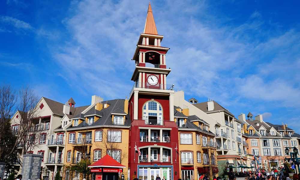 Glockenturm in Mont-Tremblant