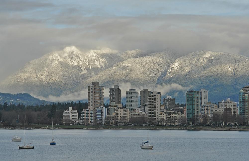Blick auf West Vancouver