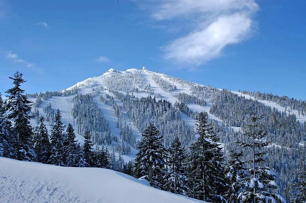 Blick auf Mount Ashland