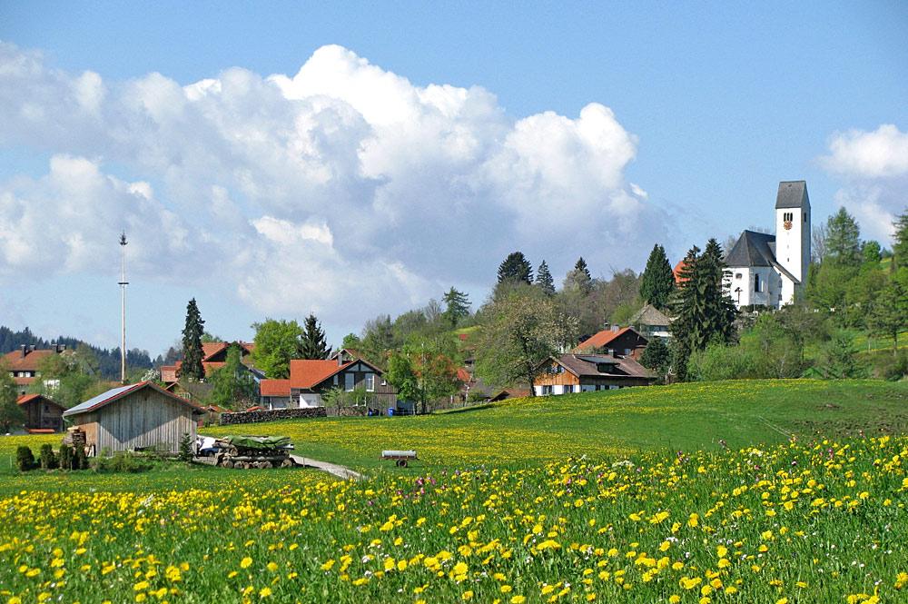 Mittelberg in der Gemeinde Oy-Mittelberg
