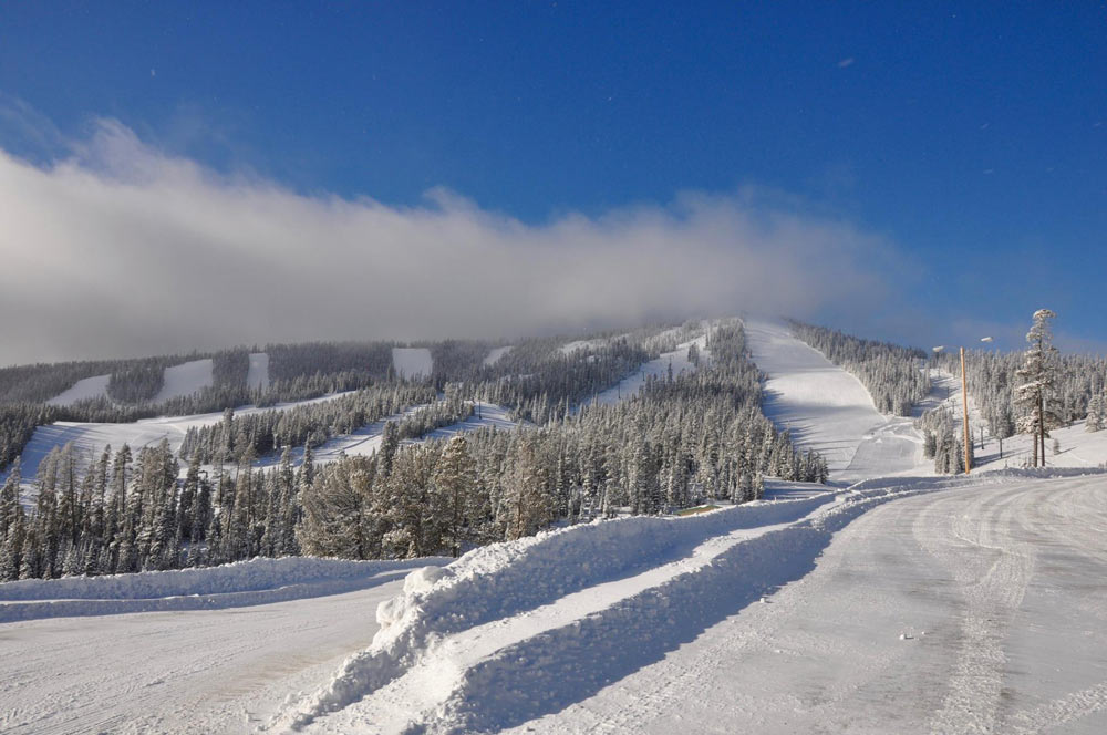 Pisten im Skigebiet Showdown Montana