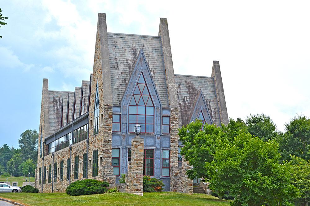 Außenansicht der Mercersburg Academy