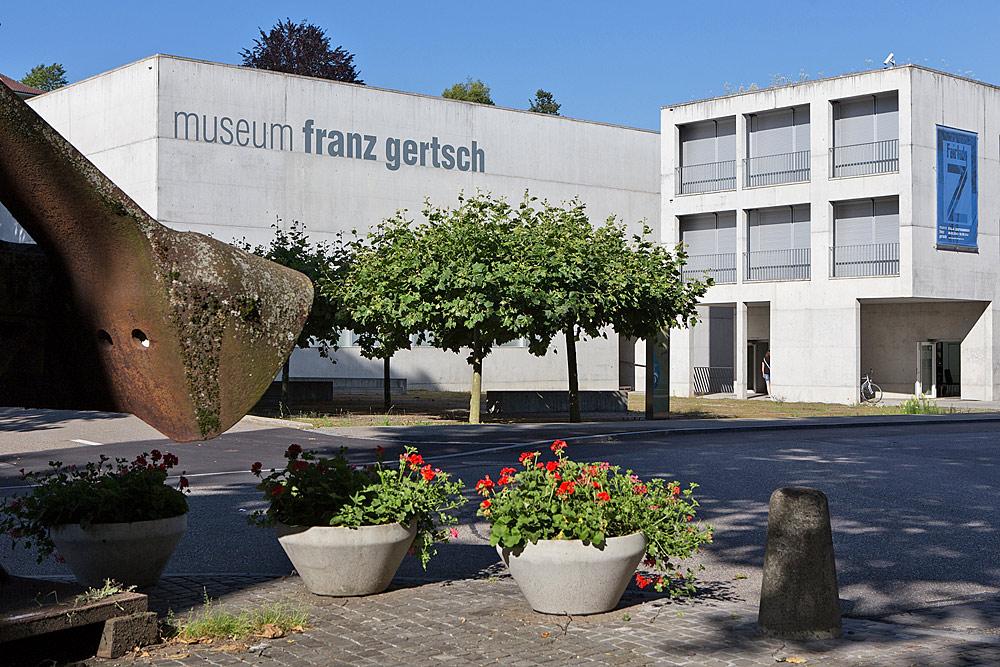 Außenansicht des Franz-Gertsch-Museums in Burgdorf