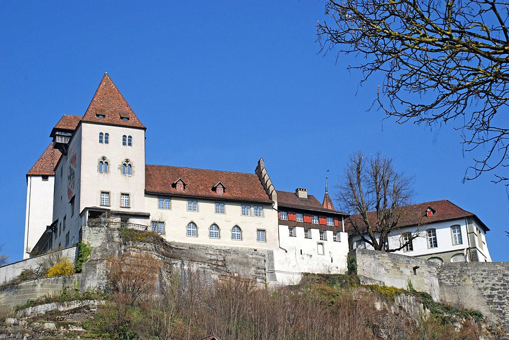 Blick auf Schloss Burgdorf