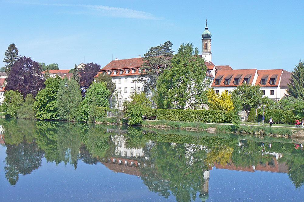 Blick auf Rottenburg am Neckar