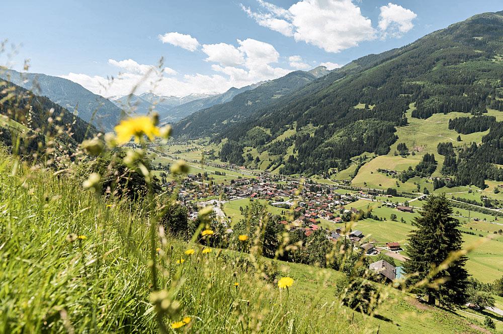 Blick auf den Ort Dorfgastein