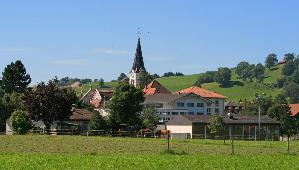 Kirche in Plaffeien