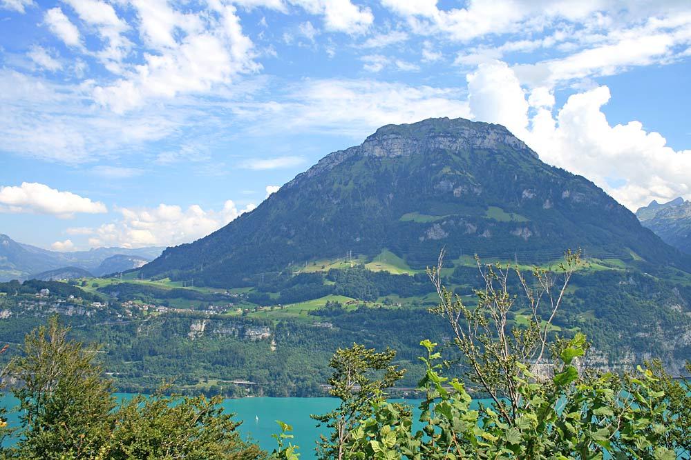 Blick von Seelisberg auf den Fronalpstock und Morschach
