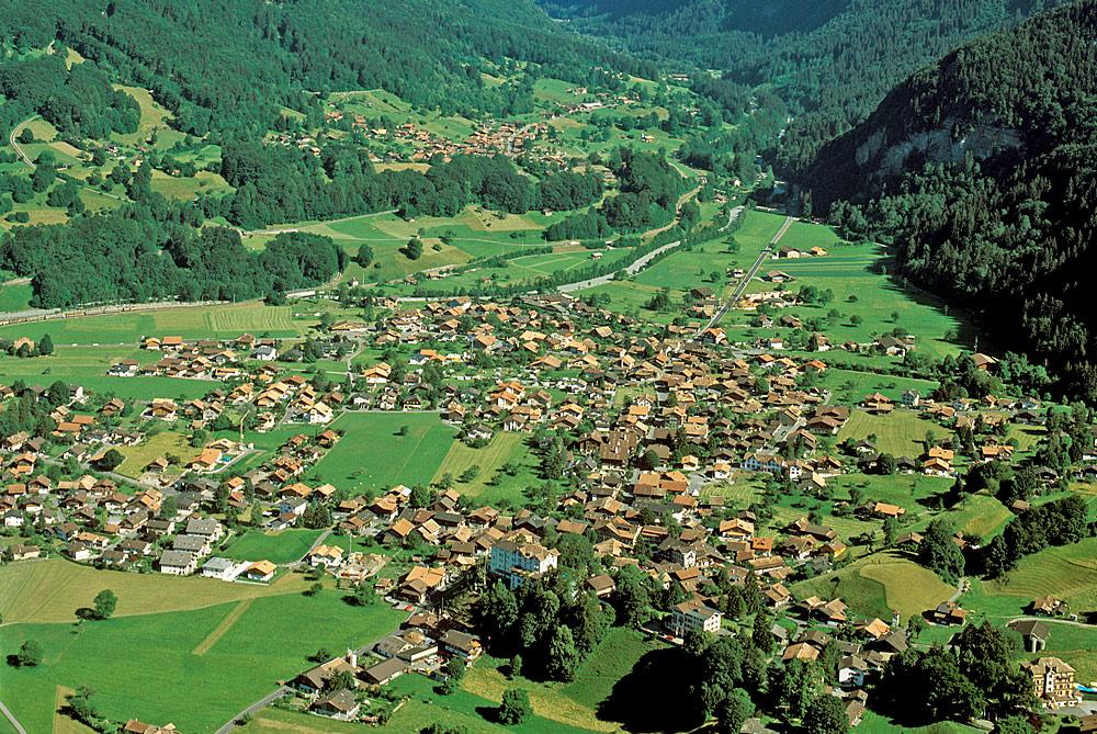 Luftaufnahme von Wilderswil