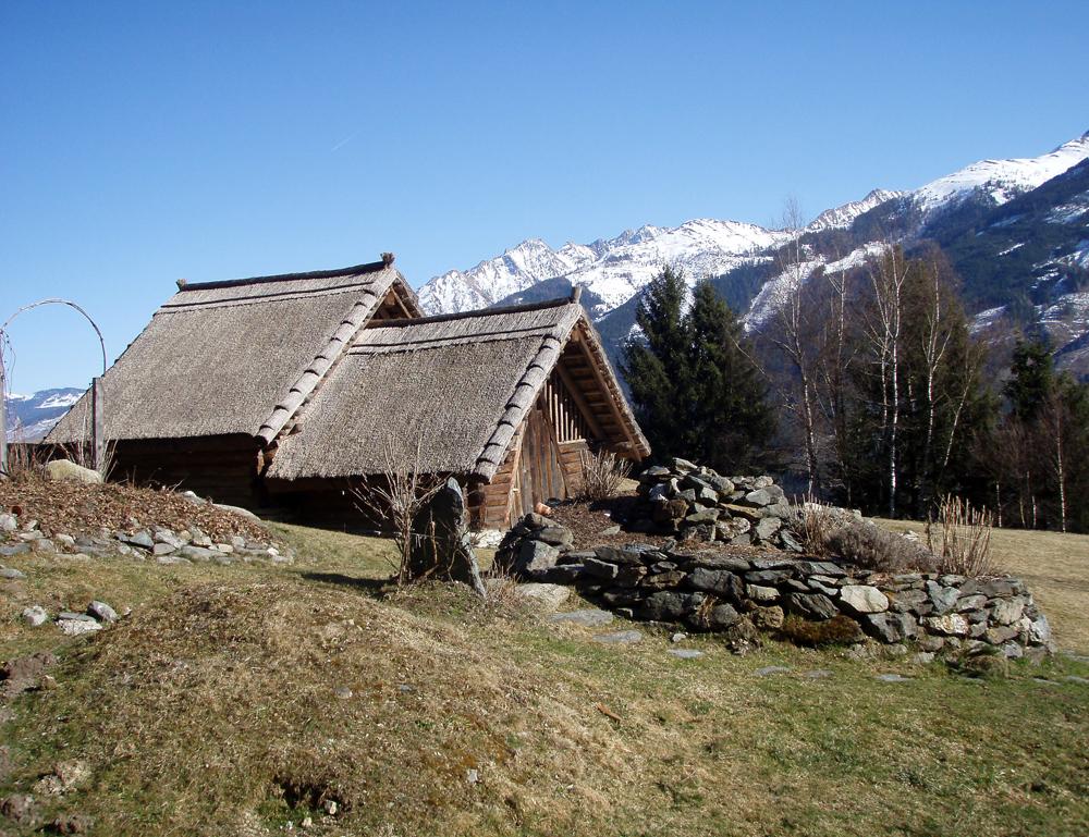 Hütte im Keltendorf Uttendorf