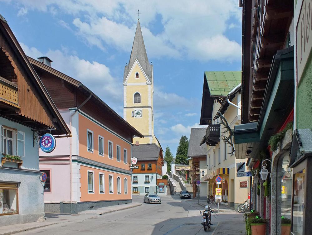 Zentrum von Bad Mitterndorf